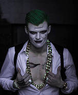 Jared Leto's Joker Homemade Costume