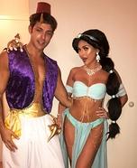 Jasmine and Aladdin Homemade Costume