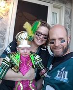 Jason Kelce Mummer's Fan Homemade Costume