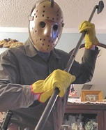 Jason Voorhees Part VI Homemade Costume