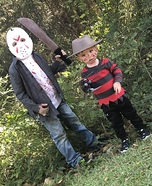 Jason vs Freddy Homemade Costume