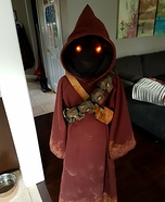 Jawa from Star Wars Homemade Costume