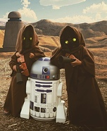 Jawas Homemade Costume