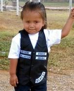 Jax Teller Baby Homemade Costume
