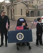 Jax 4 President Homemade Costume