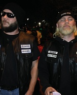 Jax Teller and Opie Homemade Costume