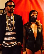 Jay Z and Beyonce Homemade Costume