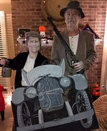 Jed and Granny Clampett Homemade Costume