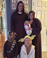 Jedi Family Homemade Costume