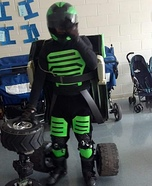 Jeep Transformer Homemade Costume