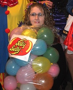 Homemade Jelly Belly Costume