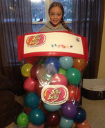 Jelly Belly Homemade Costume