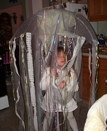 Homemade Girl's Jellyfish Costume