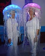 Homemade Jellyfish Costumes