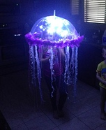 Homemade LED Jellyfish Costume