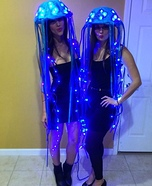 DIY LED Jellyfish Costumes