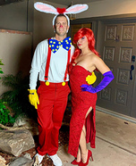 Jessica & Roger Rabbit Homemade Costume