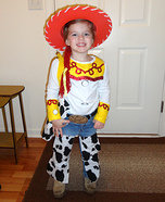 Homemade Toy Story Jessie Costume
