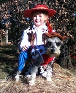 Jessie & Woody Homemade Costume