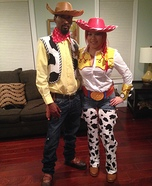 Couples Jessie & Woody Costume
