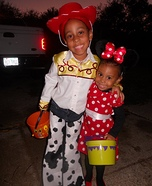 Jessie the Cowgirl & Minnie Mouse Homemade Costumes