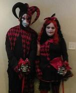 Jestina & Jester Homemade Costume