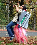 Jet Pack Homemade Costume