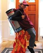 Optical Illusion costumes - Jet Pack Illusion Costume