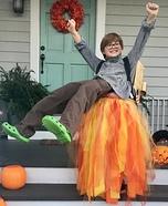 Jetpack Boy Homemade Costume