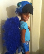 Halloween costume ideas for girls: Jewel from Rio Homemade Costume