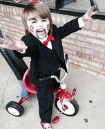 Jigsaw Billy the Puppet Homemade Costume