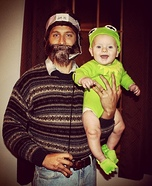 Jim Henson & Kermit the Frog Homemade Costume