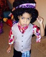 Jimi Hendrix Baby Homemade Costume