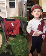 Jockey and his Horse Homemade Costume