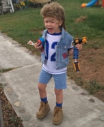 Joe Dirt Homemade Costume