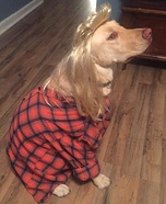 Joe Dirt Dog Homemade Costume