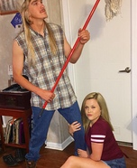 Joe Dirt & Brandy Homemade Costume