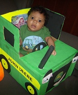 John Deere Tractor Costume Idea for Babies