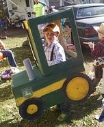 John Deere Tractor Homemade Costume