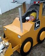 John Deere Tractor Driver Homemade Costume