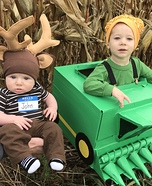 John Deere x2 Homemade Costume
