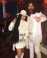 John Lennon and Yoko Ono Homemade Costume