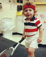 John McEnroe Homemade Costume