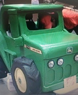 John Deere Tractor Wheelchair Costume