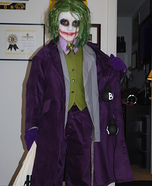 The Joker Costume Idea for Boys