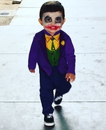 Toddler Boy's Joker Costume