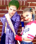 Joker and Harley Homemade Costume