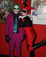Joker and Harley Quinn Homemade Costumes