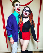 Joker and Harley Quinn Homemade Costume