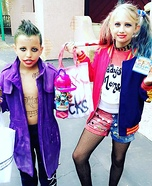 Joker and Harley Quinn Costume Idea for Kids